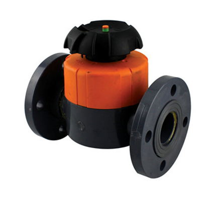 Diaphragm Valve (Flanged Type)