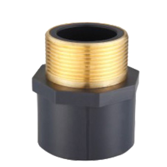 UPVC SCH80 MALE COUPLING