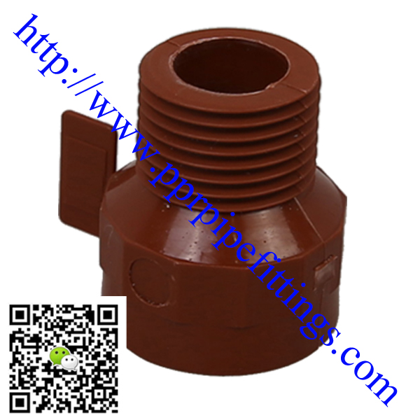 pp-h pipe fittings,male female reducer