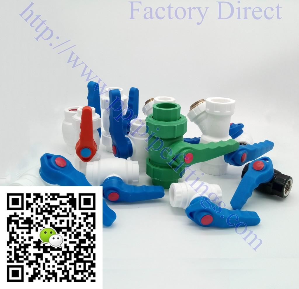 ppr steel ball valve, plastic ball valve, brass ball valve