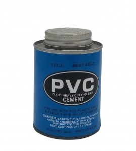 PVC pipes fittings Cement