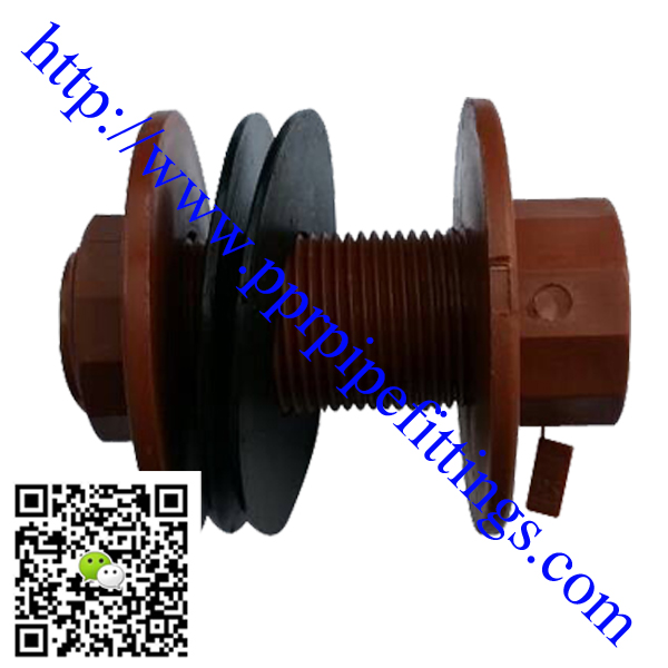 PP-H threaded pipe fittings