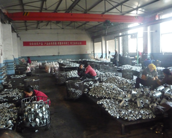 galvanized cast iron fittings factory workshop
