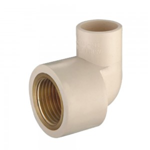 90 DEG FEMALE ELBOW (COPPER THREAD) CPVC ASTM D2846 pipe fittings