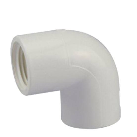 ASTM SCH 40 PVC fittings 90 DEG FEMALE ELBOW