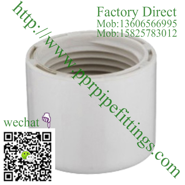 ASTM SCH 40 PVC fittings CAP