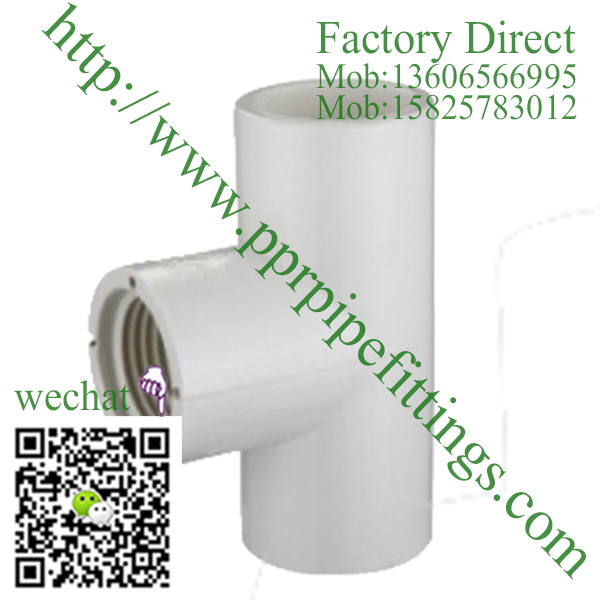 ASTM SCH 40 PVC fittings FEMALE TEE