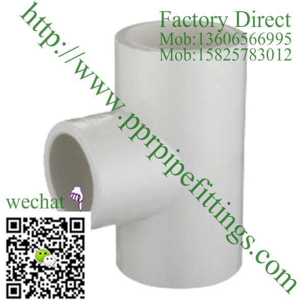ASTM SCH 40 PVC fittings REDUCING TEE