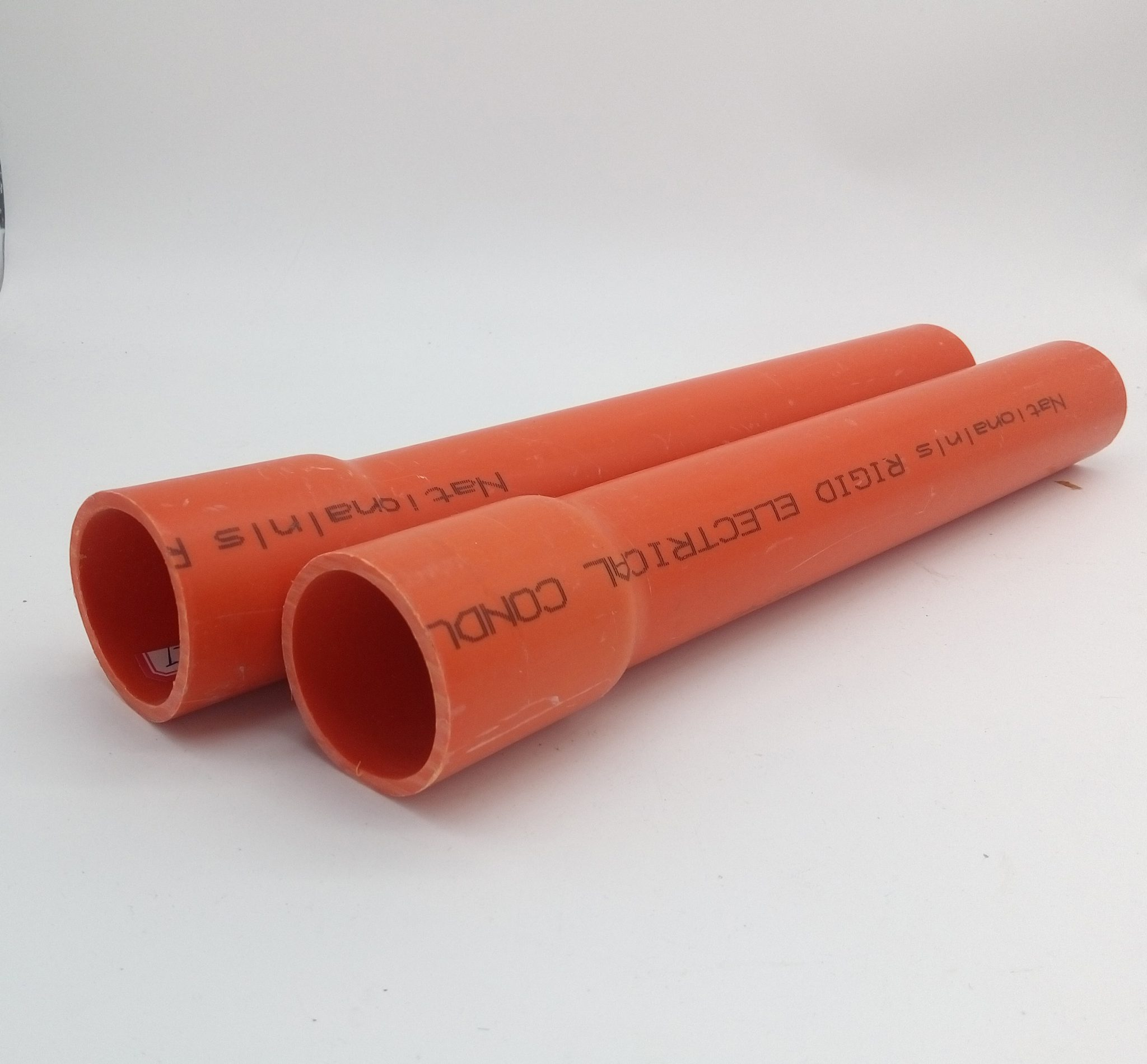 Australia Standard UPVC CONDUIT PIPE ORANGE COLOUR