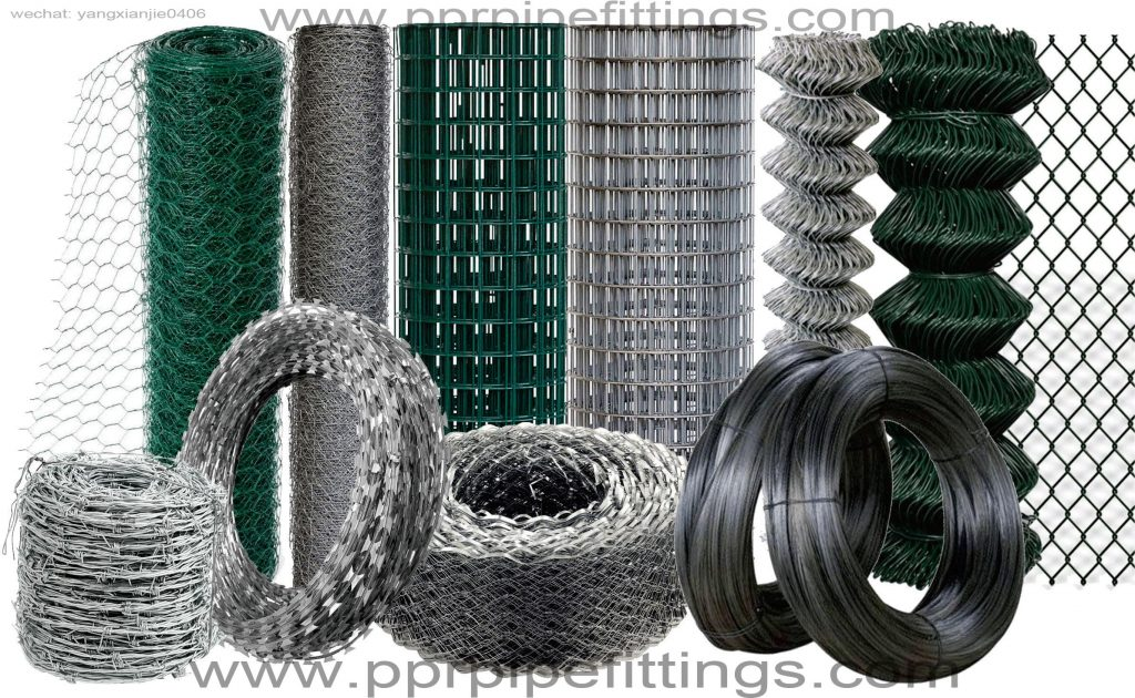 Barbed Wire Razor Wire Mesh Chain Link Fence Tile Trims Expanded Metal Mesh