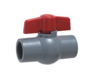 CPVC compact ball VALVE ASTM CPVC SCH80 FITTINGS