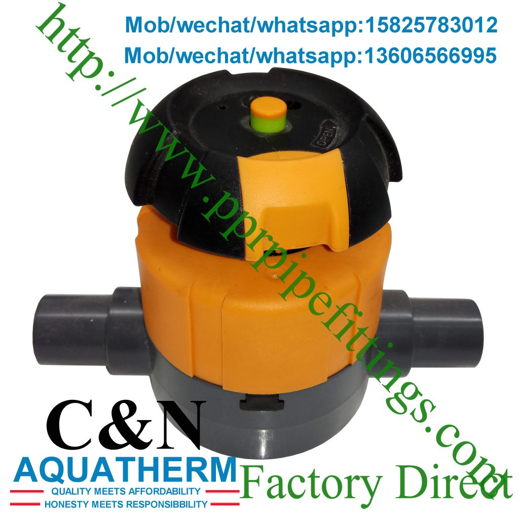 Diaphragm Valve with solvent cement socket