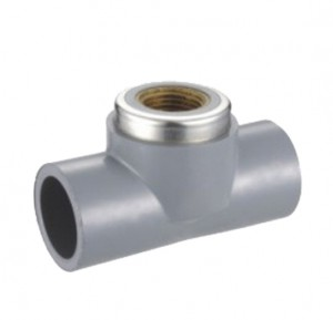 FEMALE TEE(COPPER THREAD) ASTM CPVC SCH80 FITTINGS