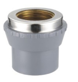 FEMALE socket(COPPER THREAD) ASTM CPVC SCH80 FITTINGS
