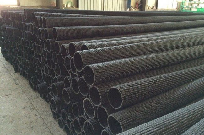 Geocomposite hdpe Drain Pipe