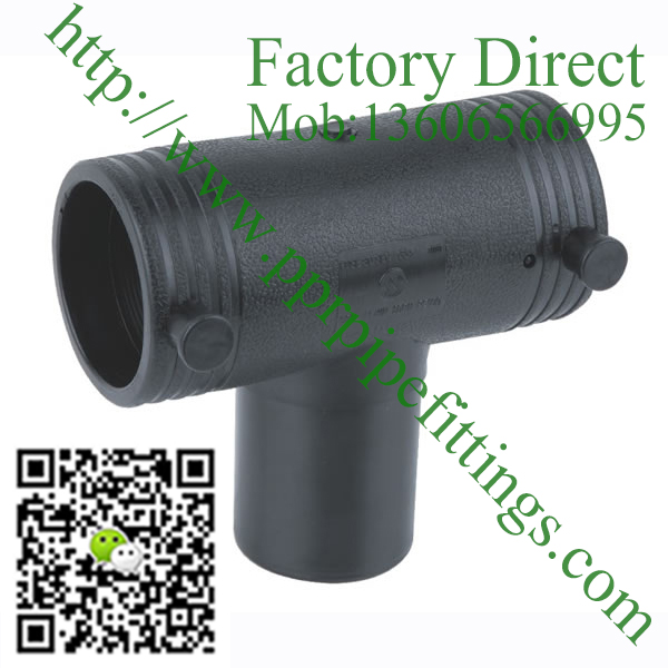 HDPE Electro Fusion Equal Tee Pipe Fittings