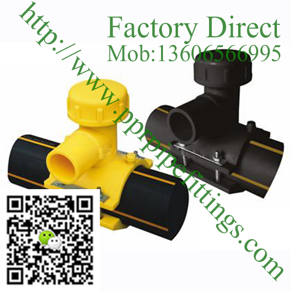 HDPE ElectroFusion Branch Saddle Pipe Fittings