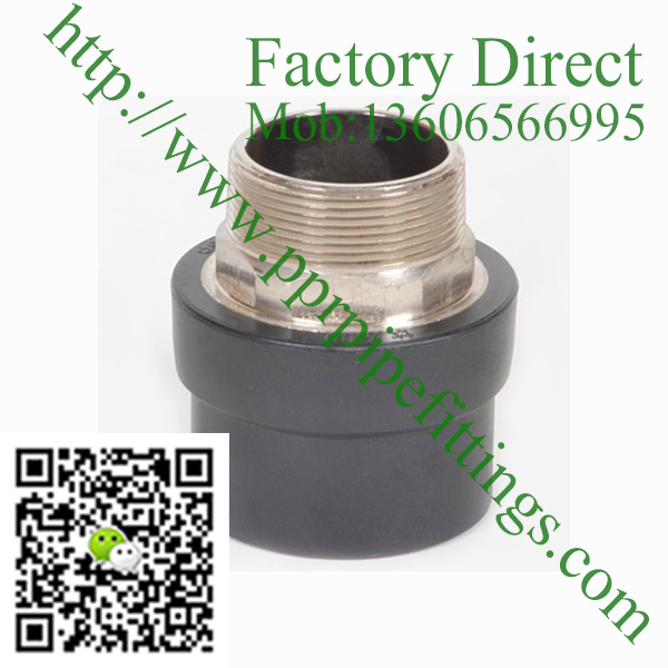 HDPE male brass socket