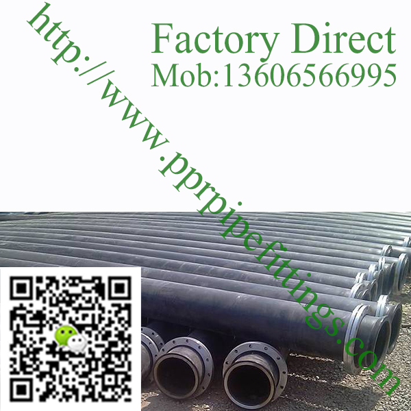 HDPE pipe plastic pipe, HDPE dredging pipe, sand dredger discharge pipe