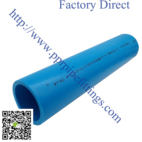 HDPE pipes for water supply drainage blue colour