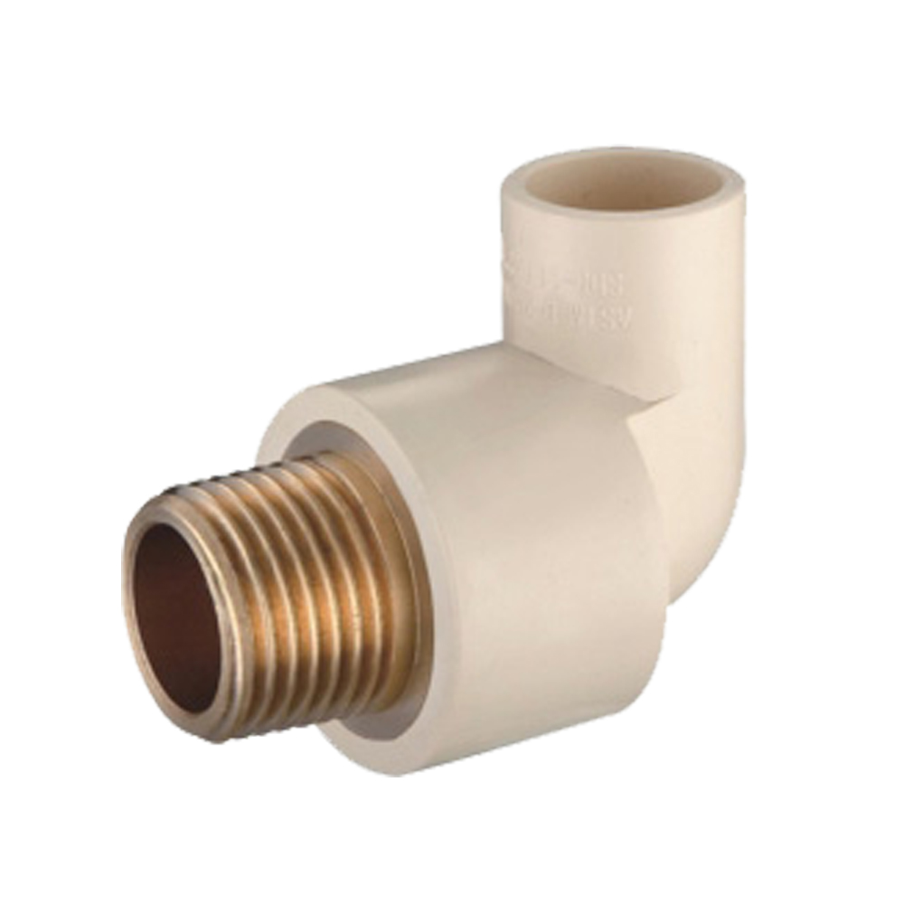 Male elbow copper thread cpvc astm d pipe fittings