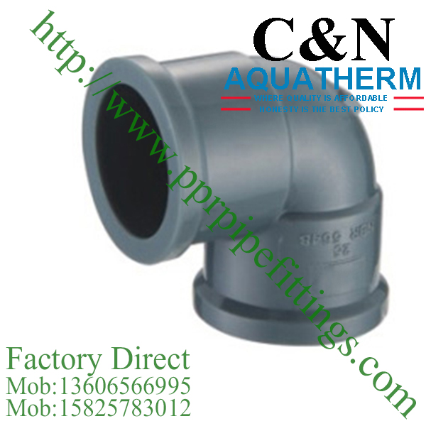 NBR5648 PVC Pipe Fittings elbow