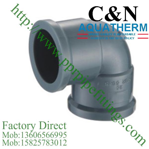 NBR5648 PVC Pipe Fittings elbow