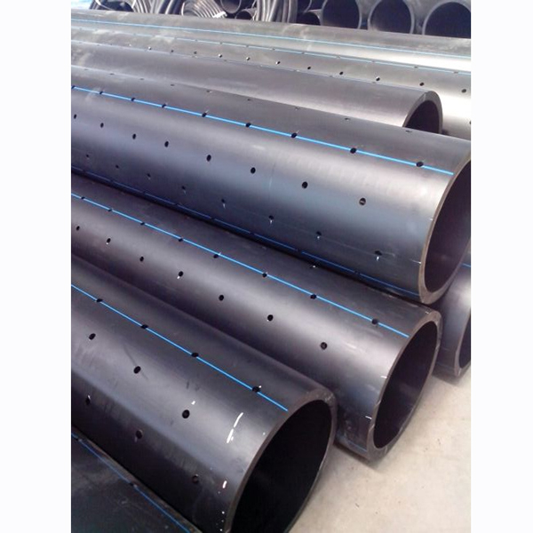 PE Perforated Drilled Drainage Driving systems