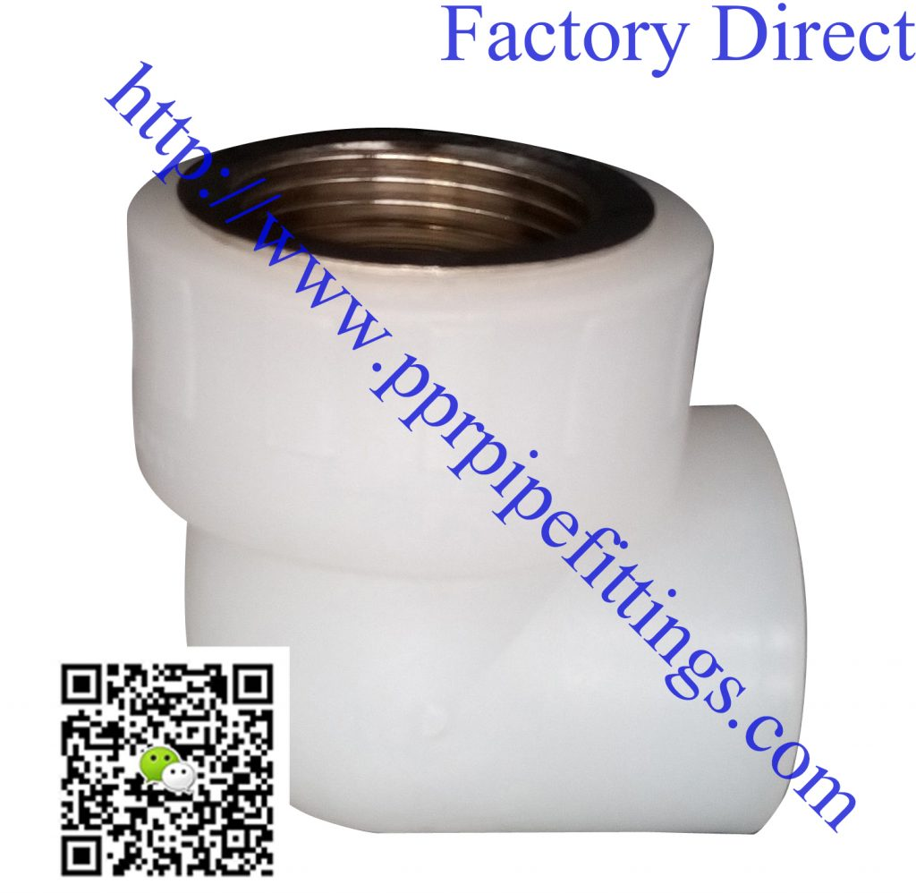 PERT pipe fittings female elbow