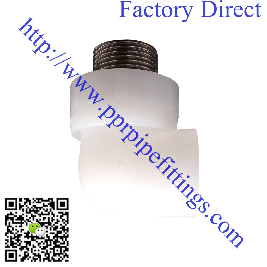 PERT pipe fittings male elbow