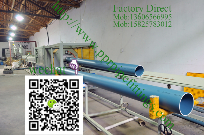 PP silent pipe protruding production line