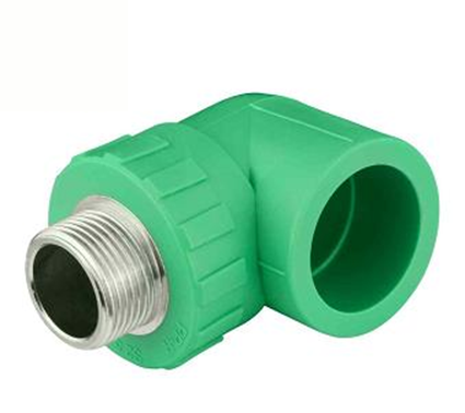 PPR Pipe Fittings male elbow
