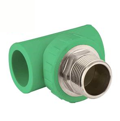 PPR Pipe Fittings male tee