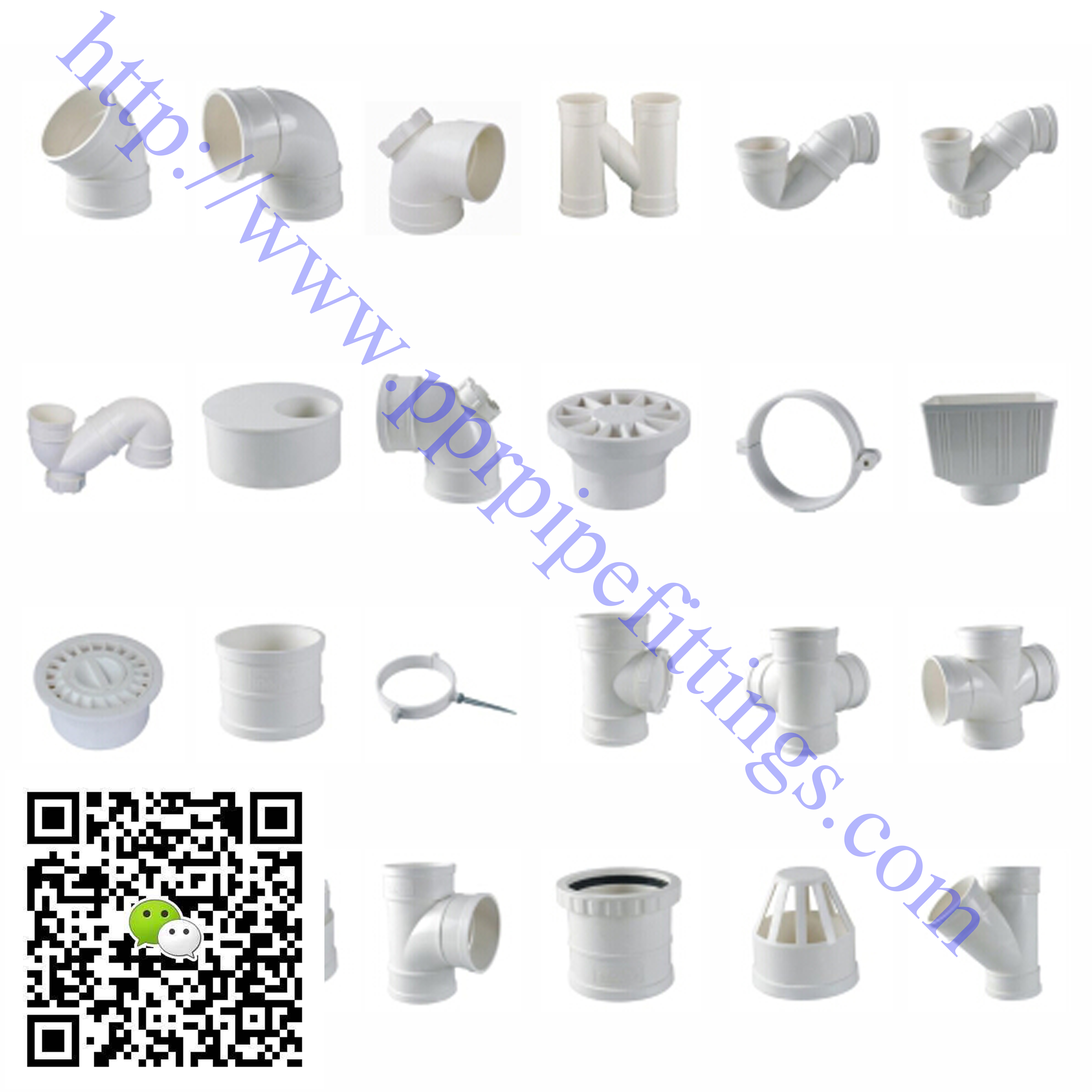 PVC-U pipe fittings