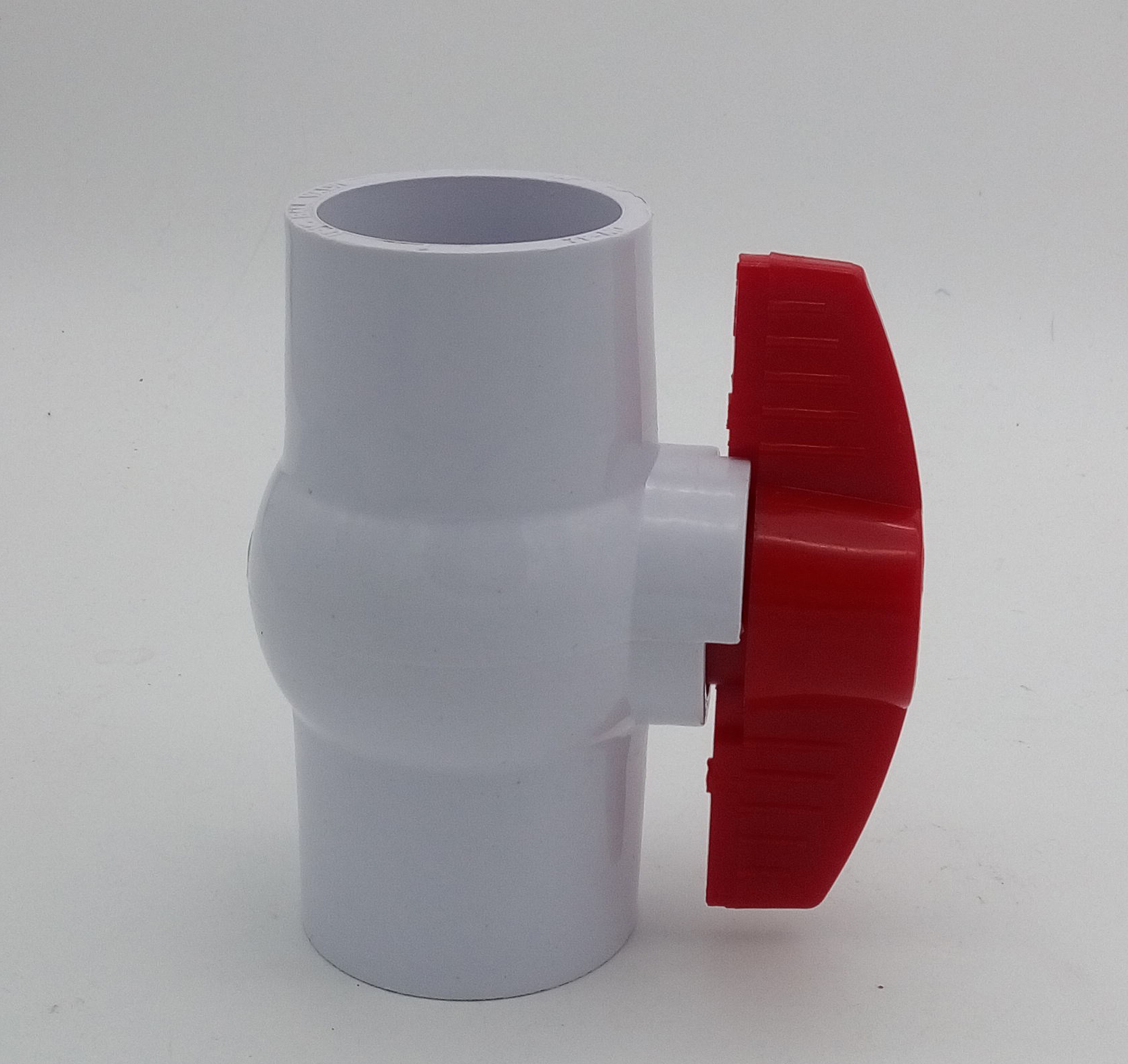 White Socket Compact Ball Valves