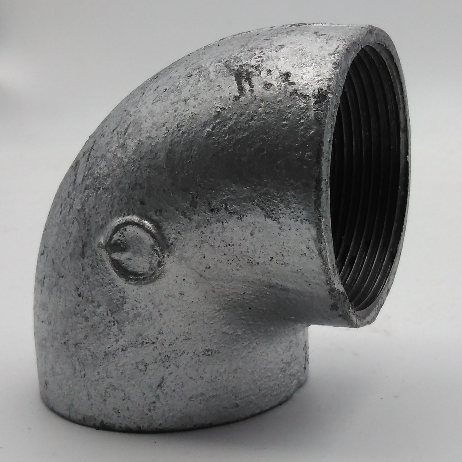 baked cast iron fittings elbow