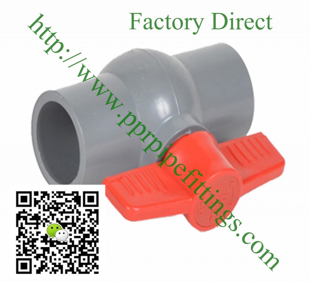 bs en 1452 pvcu pipe fittings ball valve