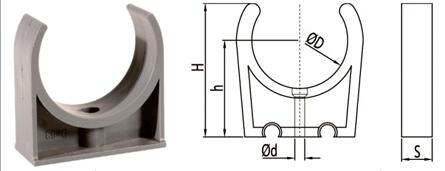 bs en 1452 pvcu pipe fittings clamp