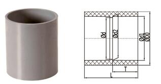 bs en 1452 pvcu pipe fittings coupling