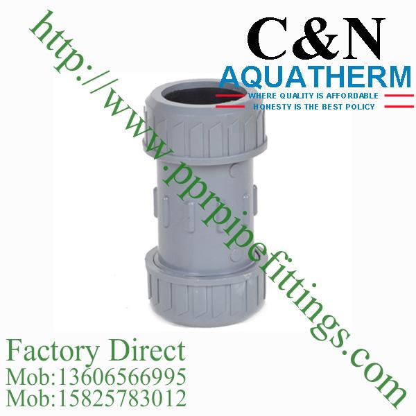 bs en 1452 pvcu pipe fittings expansion coupling