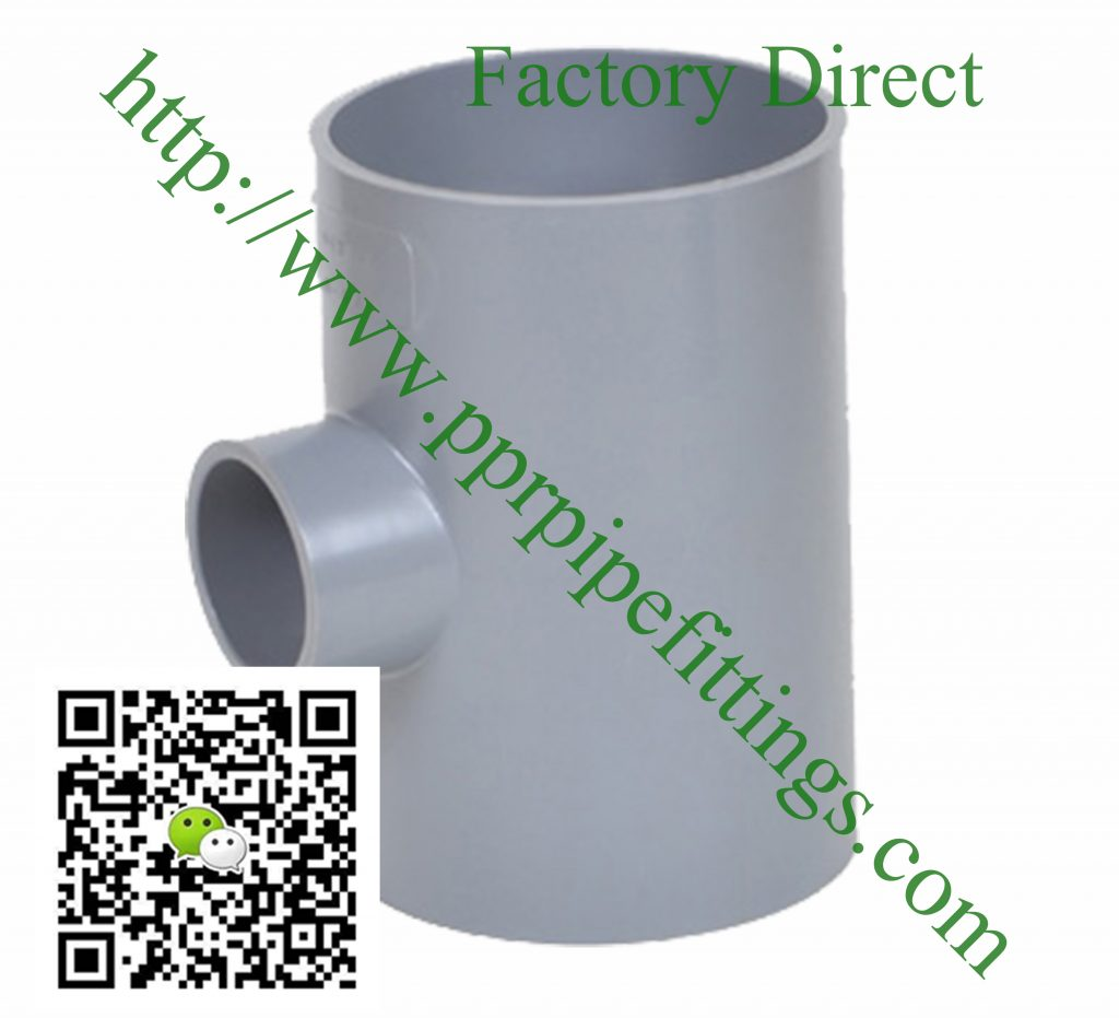 bs en 1452 pvcu pipe fittings reducing tee