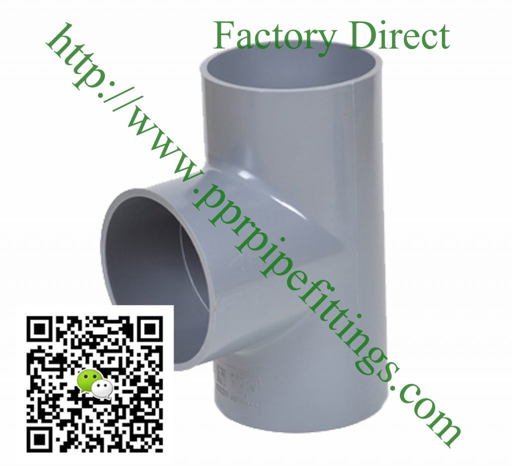 bs en 1452 pvcu pipe fittings tee