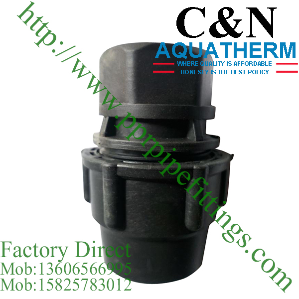 female coupling hdpe compression fittings