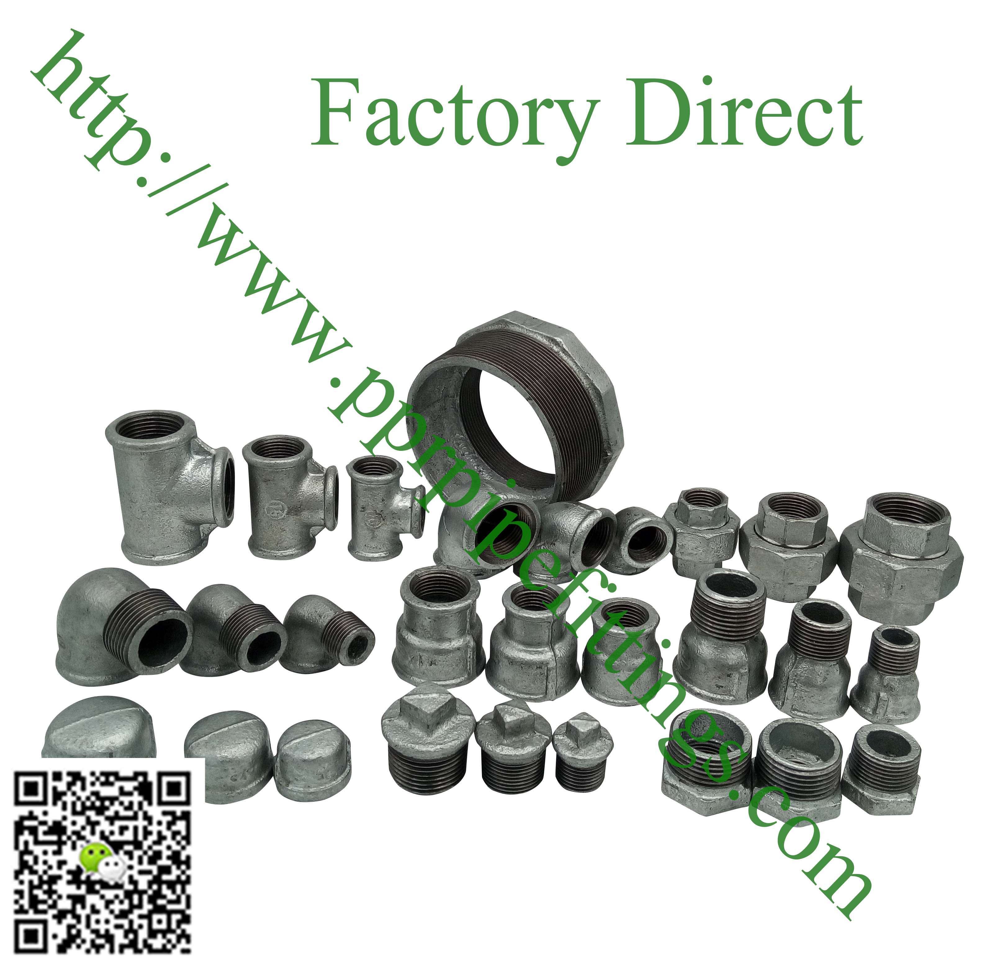 hot dipped beaded cast iron fittings