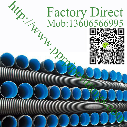 hdpe corrugated pipe for drainage