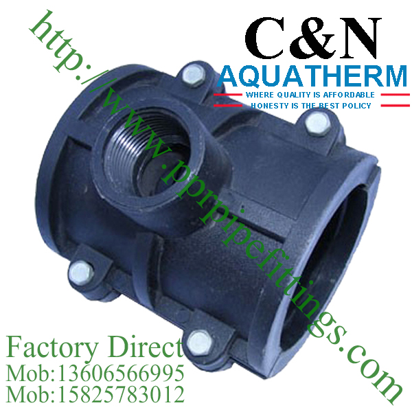 hdpe female saddle clamp