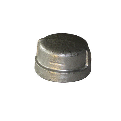hot dipped banded galvanized iron end cap