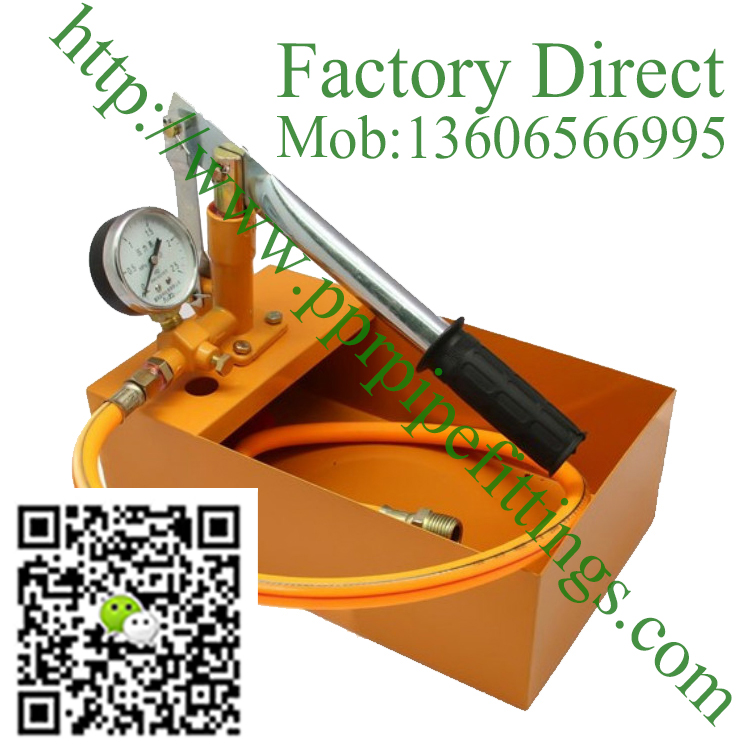 manual pressure test pump Water pressure testing hydraulic pump 2.5mpa 25kg
