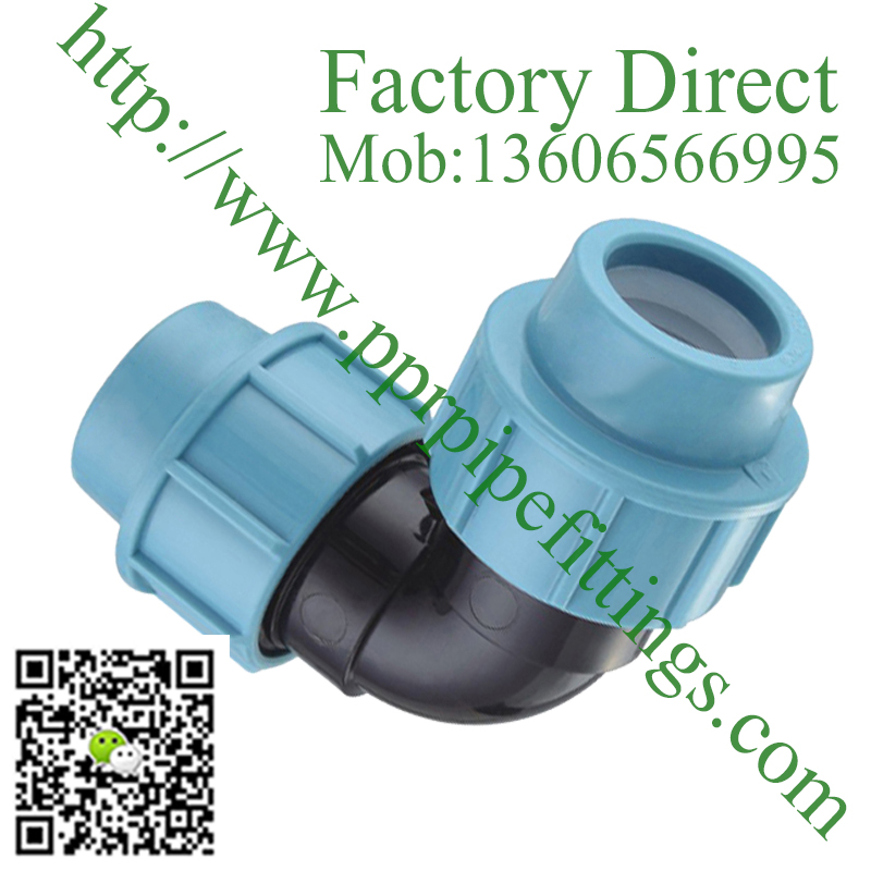 pp compression fittings Elbow