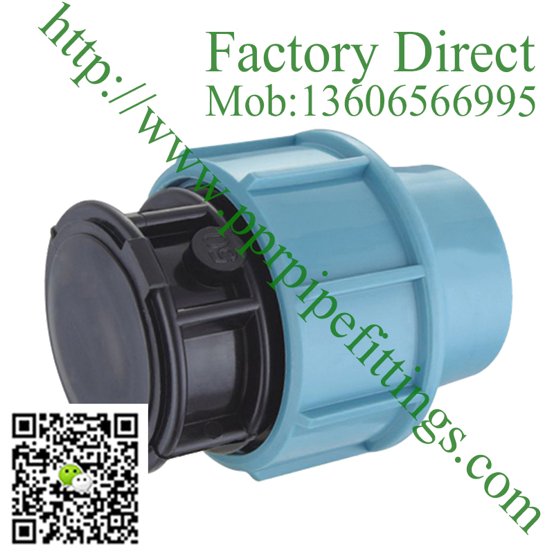 pp compression fittings End plug